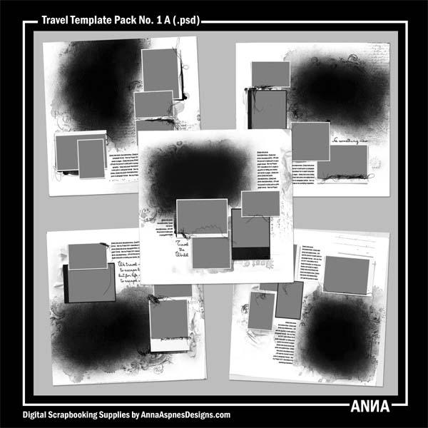 Travel Template Album NO. 1A